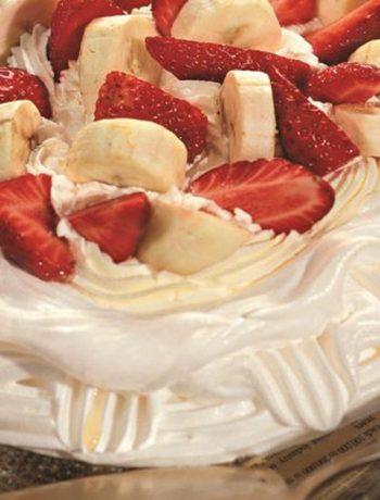 Домашний торт Павлова