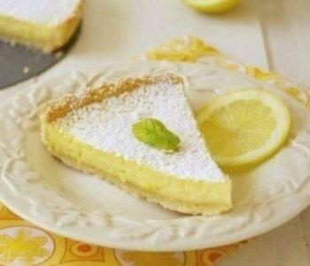 Лимонный пирог/Лимонный тарт