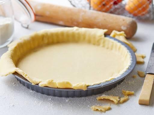 Обычный сладкий пирог в стиле флан