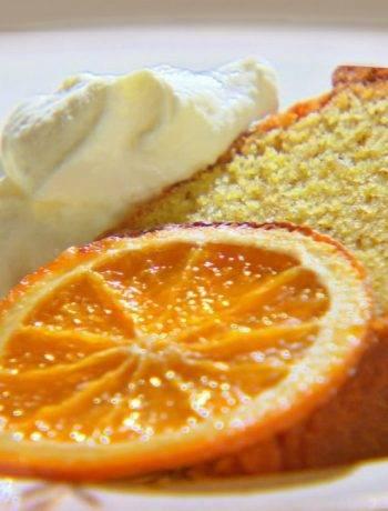 Апельсиновый манник с хрустящей корочкой