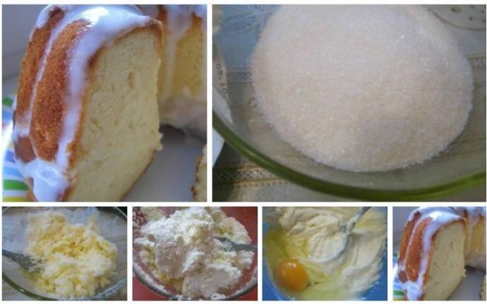 Домашний творожный кекс