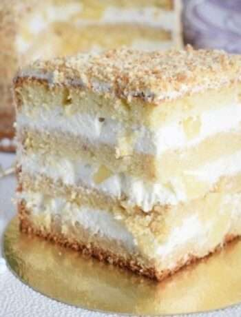 Торт с крем-чиз