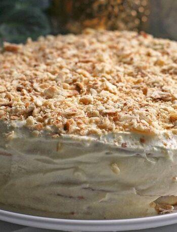 Торт минутка без духовки