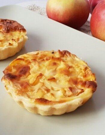 Простые яблочные тарталетки