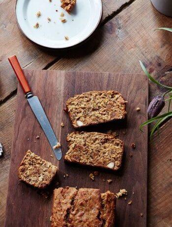 Миндальный хлеб с инжиром