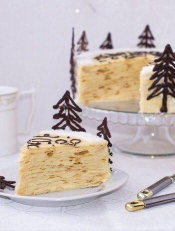 Торт нежный наполеон