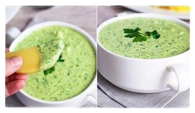 Классический зелёный соус